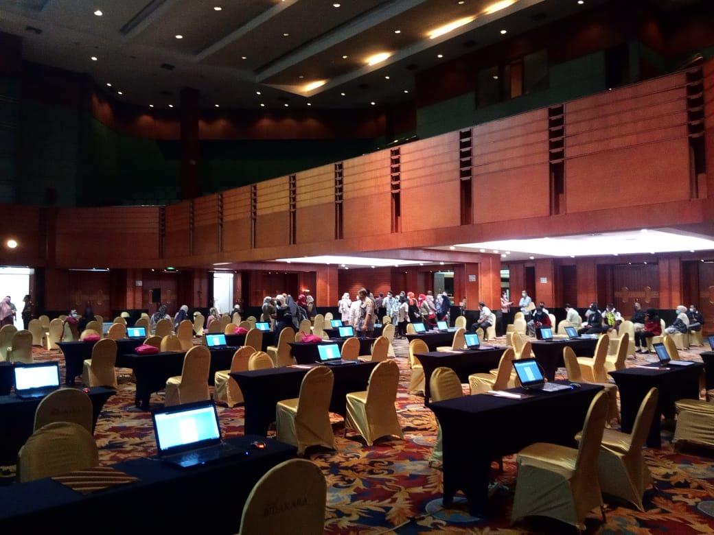 Sewa Laptop Acara Vaksinasi Covid 19 di Hotel Bidakara Jakarta